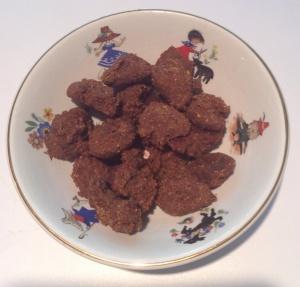 Homemade, organic dog treats