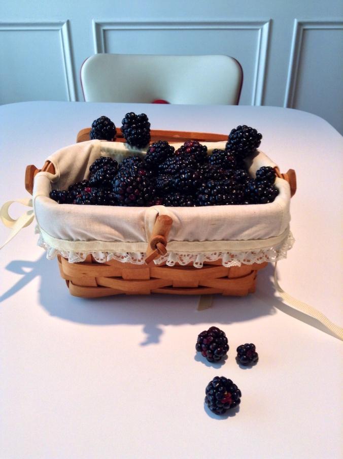 Chester blackberries